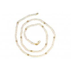 Collar - Oro 14K - Perlas