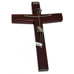 Cristo de Plata y Palo de Rosa
