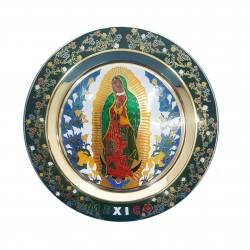 Plato Virgen de Guadalupe