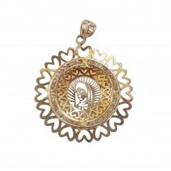 Medalla - Virgen de Guadalupe - Oro 10K