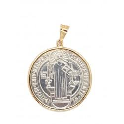 Medalla San Benito 14k