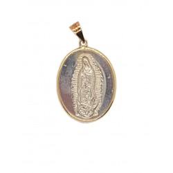Medalla-Escapulario 14K