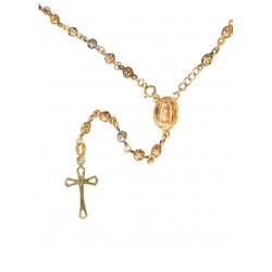 Rosario de Oro - Virgen de Guadalupe - Oro 10K
