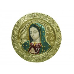 Plato de Virgen de Guadalupe